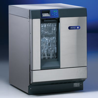 FLASKSCRUBBER GLASSWARE WASHER, FREESTANDING WITH WINDOW AND HIGH HEAT, 208/230V, 50/60 HZ