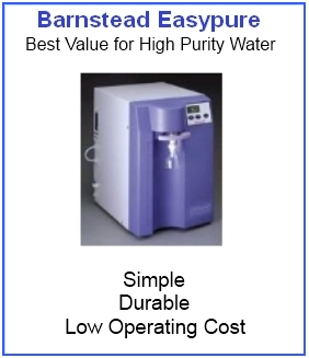Why do  you need pure water in a laboratory?
