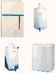 Used Lab Water Storage Tanks